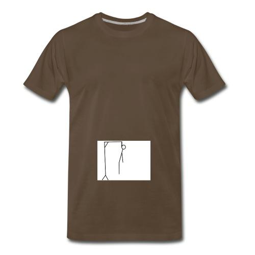 stick suicide - Men's Premium T-Shirt