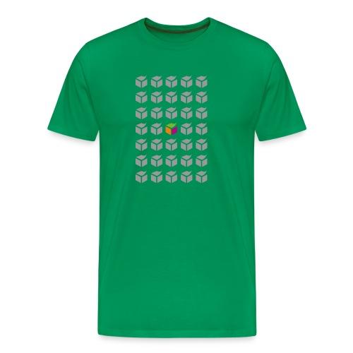 grid semantic web - Men's Premium T-Shirt
