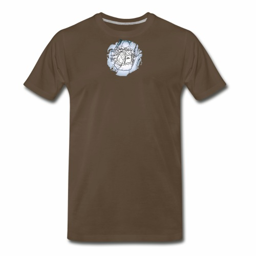 Garbage Truck Work - Men's Premium T-Shirt