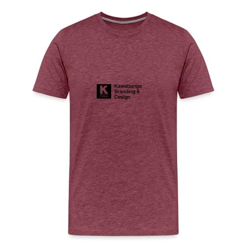KBD signature - Men's Premium T-Shirt