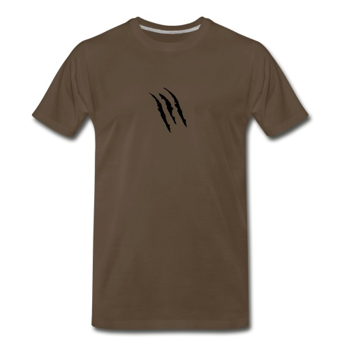 3 claw marks Muscle shirt - Men's Premium T-Shirt