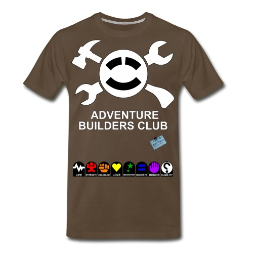 Adventure Builders Club - Men's Premium T-Shirt