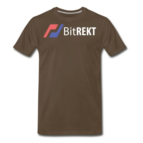 BitRekt Black - Men's Premium T-Shirt