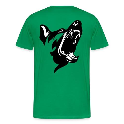 German Shepherd Dog Head - Men's Premium T-Shirt