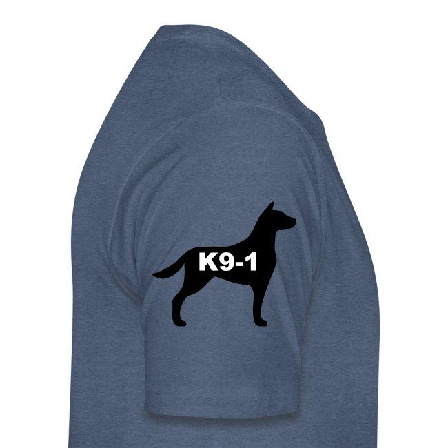 German Shepherd Dog Head
