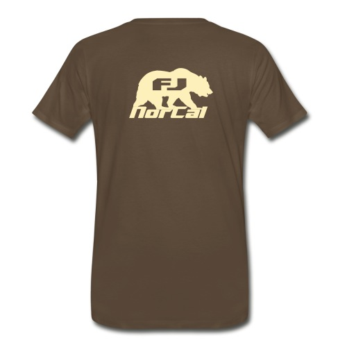 norcalfj beartextov - Men's Premium T-Shirt