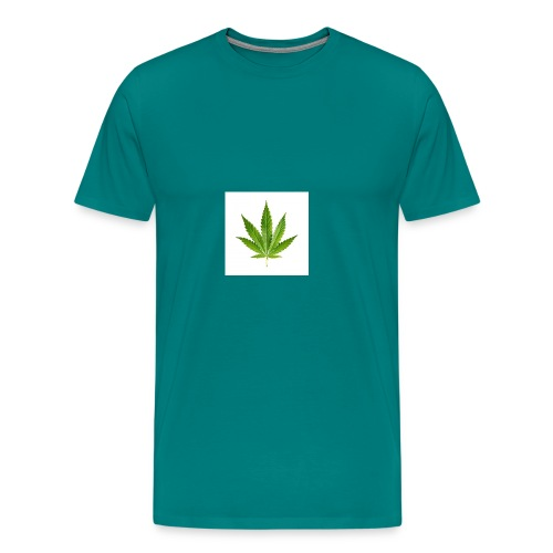 cannabisleaf - Men's Premium T-Shirt