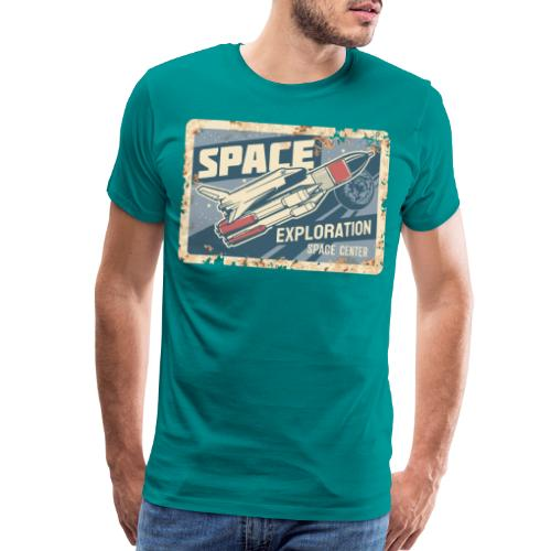space ship explorer - Men's Premium T-Shirt