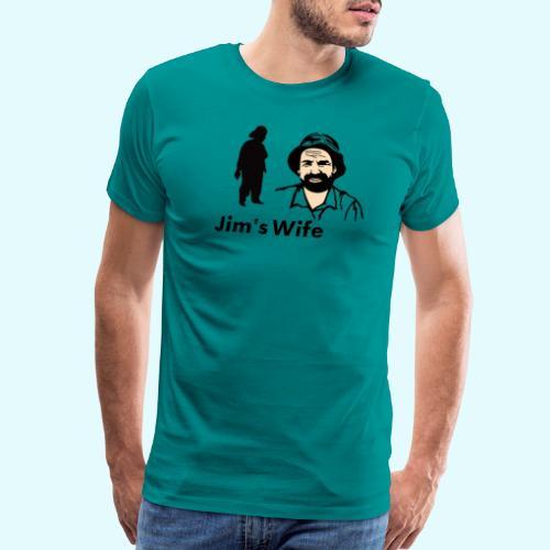 Jim's Wife - Men's Premium T-Shirt