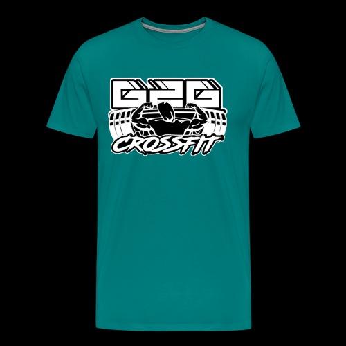 G2G White Overlay Logo - Men's Premium T-Shirt