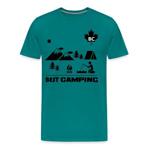 BC Best Camping - Men's Premium T-Shirt
