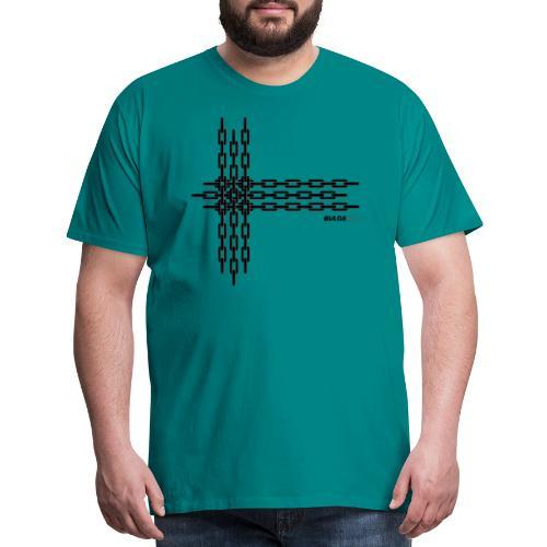 bulgebull_chain2 - Men's Premium T-Shirt