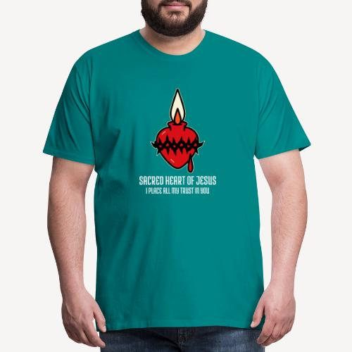 SACRED HEART OF JESUS - Men's Premium T-Shirt