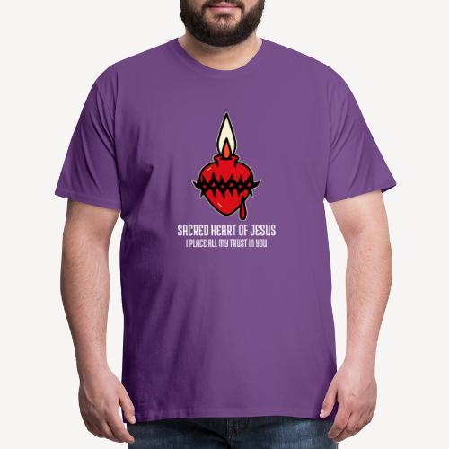 SACRED HEART OF JESUS - Men's Premium T-Shirt