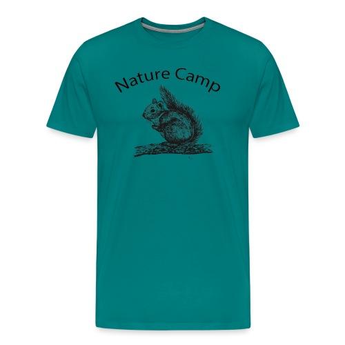 Nature Camp Squirrel - Men's Premium T-Shirt