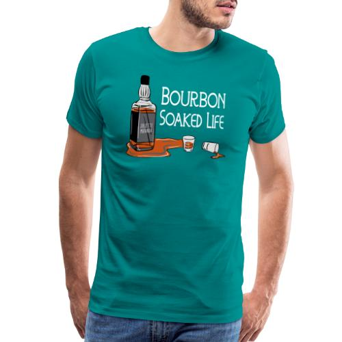 Bourbon Soaked Life - Men's Premium T-Shirt