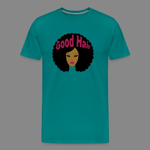 Good Hair (Pink) - Men's Premium T-Shirt