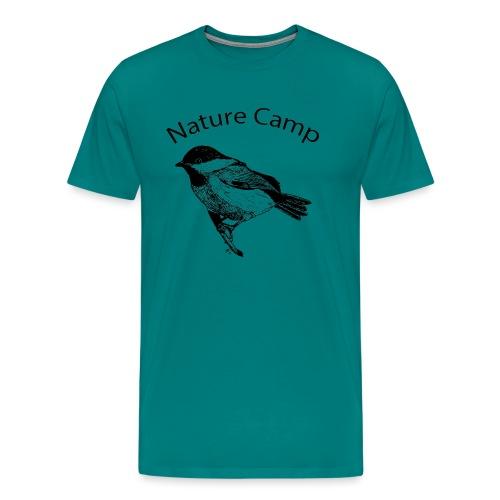 Nature Camp Chickadee - Men's Premium T-Shirt