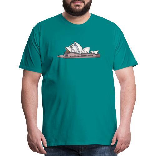 Sydney Opera House - Men's Premium T-Shirt