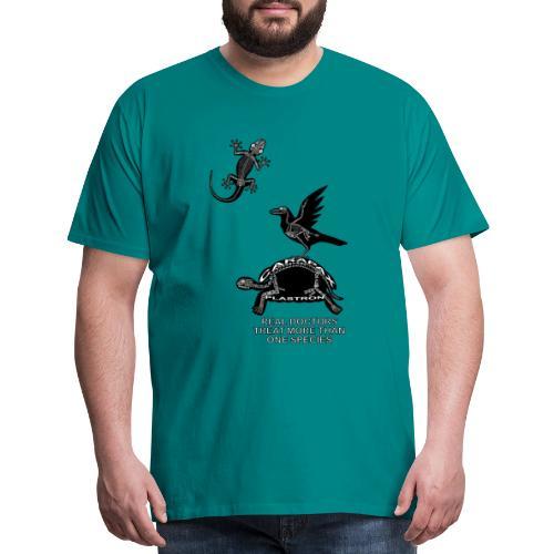 Real Doctors ... Exotic - Men's Premium T-Shirt