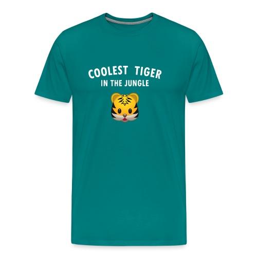 Coolest Tiger Hoodie - Men's Premium T-Shirt