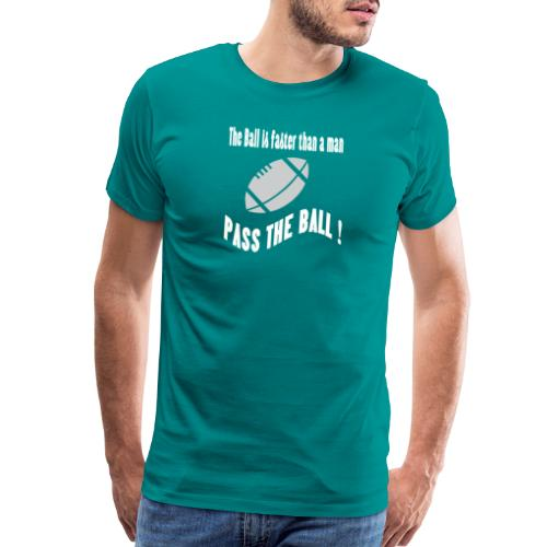 The_ball_is_faster - Men's Premium T-Shirt