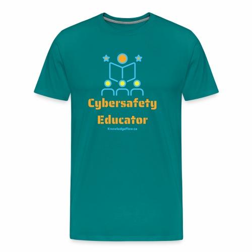Cybersafety Educator - Men's Premium T-Shirt