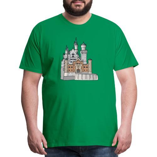 Neuschwanstein Castle, Bavaria - Men's Premium T-Shirt