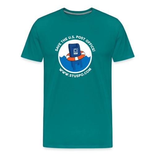 Save the U.S. Post Office - White - Men's Premium T-Shirt