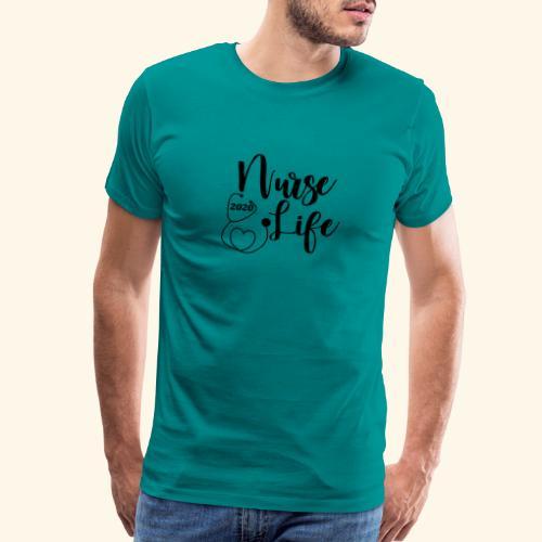 Nurse Life 2020 - Men's Premium T-Shirt
