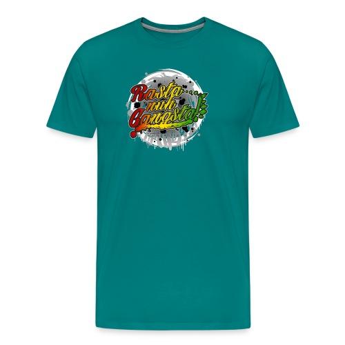 Rasta nuh Gangsta - Men's Premium T-Shirt