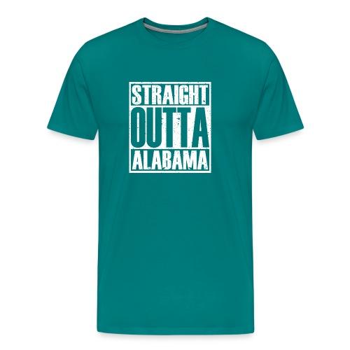 Straight Outta Alabama - Men's Premium T-Shirt