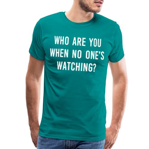 privacy personality true - Men's Premium T-Shirt