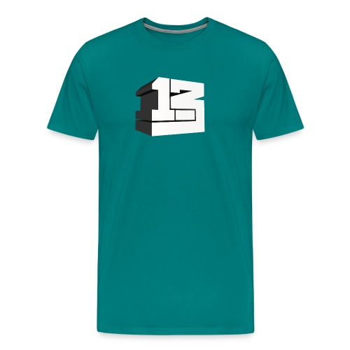 One Point Three Dimensional - Men's Premium T-Shirt