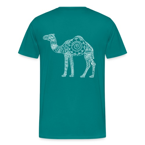 Camel Mandala - Men's Premium T-Shirt
