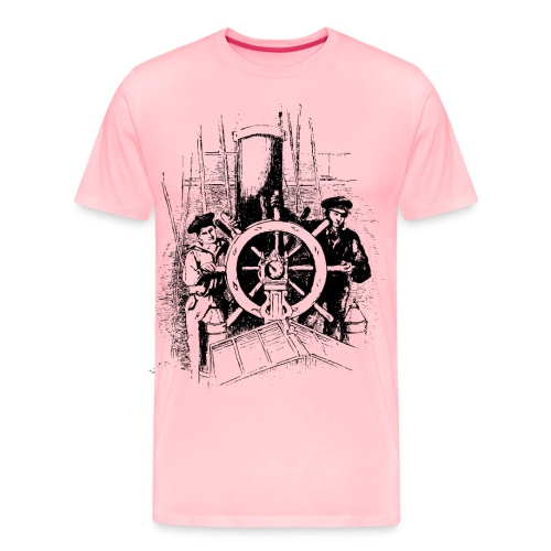 sailors at the helm - Men's Premium T-Shirt