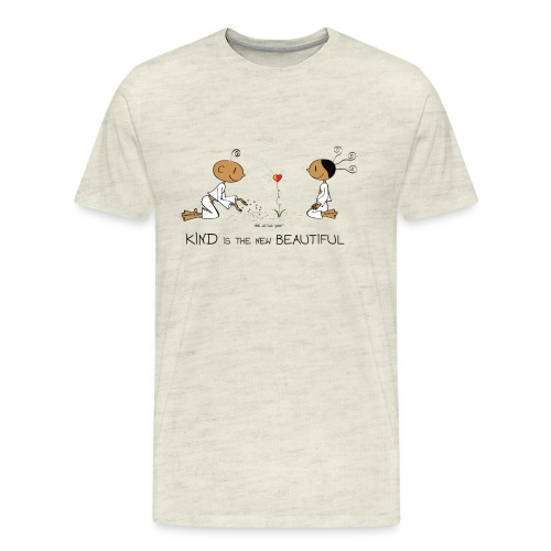 Kind is the new beautiful - Men's Premium T-Shirt