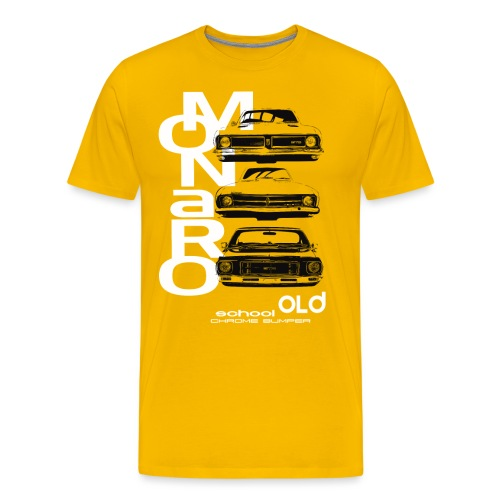 monaro over - Men's Premium T-Shirt