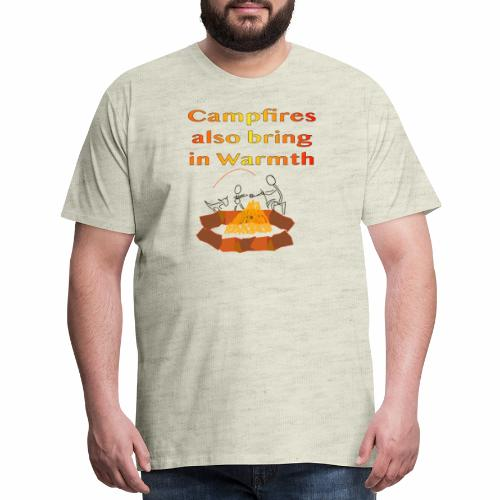 Around the Campfire - Men's Premium T-Shirt