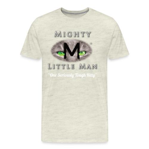 MIGHTY LITTLE MAN Logo - Men's Premium T-Shirt