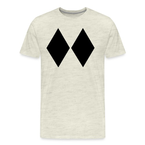 Double Black Diamond - Men's Premium T-Shirt