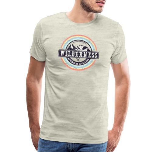 Wilderness Adventure is Calling - Men's Premium T-Shirt