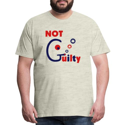 Not Guilty - Men's Premium T-Shirt