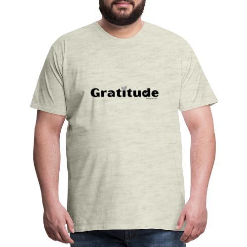Gratitude - Men's Premium T-Shirt