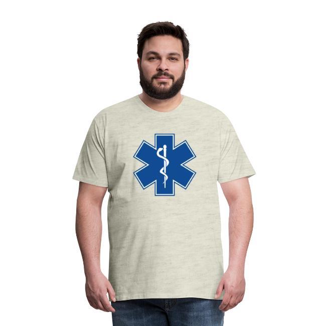 EMT Health Care Rod of Asclepius Medical Symbol