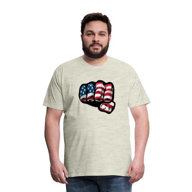 American Flag Fist