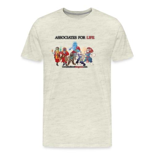 AssociatesForLifeArc2 - Men's Premium T-Shirt