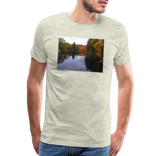 Nature Coffee Cup - Men's Premium T-Shirt