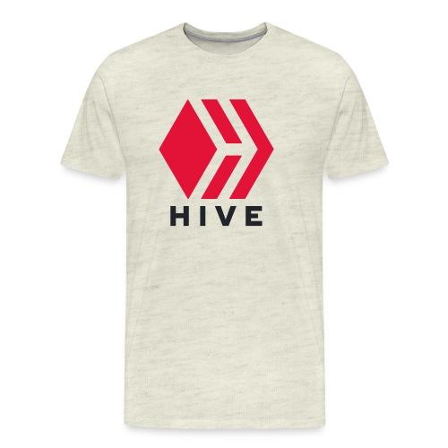 Hive Text - Men's Premium T-Shirt