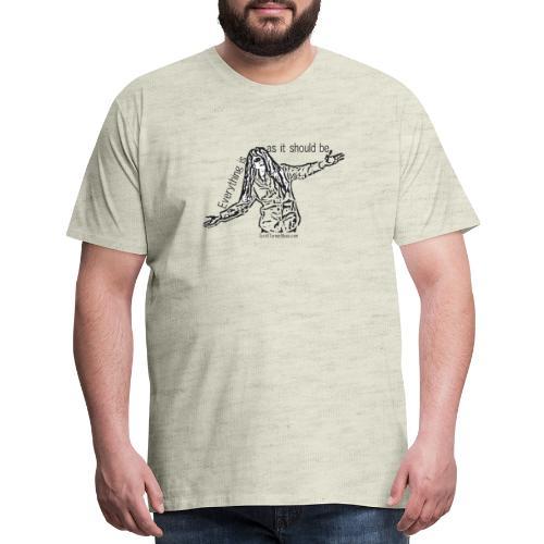 Everything is - Men's Premium T-Shirt